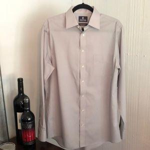 Men's Gray Dress Shirt